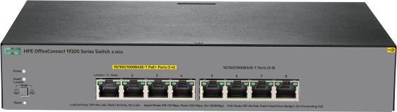 Коммутатор HP 1920S управляемый 8 портов 10/100/1000Mbps JL383A печь для бани и сауны теплодар сахара 24 лк