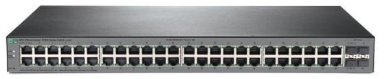 Коммутатор HP 1920S-48G управляемый 48 портов 10/100/1000Mbps JL382A коммутатор hp jl386a управляемый 48 портов 10 100 1000mbps jl386a