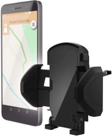 Держатель Hama H-178250 для телефона универсальный шириной от 45 до 90 мм черный держатель hama flipper для телефона универсальный шириной от 48 до 90 мм черный 00173889