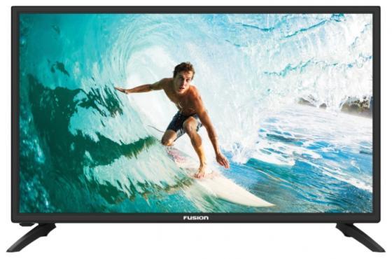 "Телевизор 20"" FUSION FLTV-20C100 черный 1366x768 50 Гц VGA HDMI USB"
