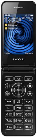 TEXET TM-400 Мобильный телефон цвет черный