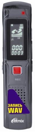 Цифровой диктофон Ritmix RR-110 4Гб черный