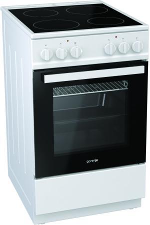 Электрическая плита Gorenje EC5121WG-B белый