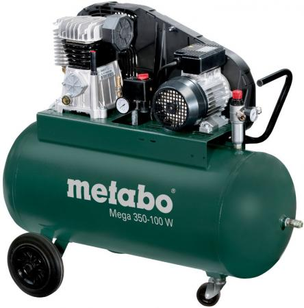 Компрессор Metabo MEGA 350-100 W компрессор metabo power 25010 w of 601544000