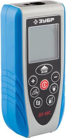 цена на Дальномер Зубр Эксперт лазерный ДЛ-50 C точность 1.5мм дальность 50м 34933_z01