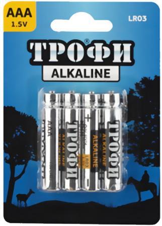 Батарейки ТРОФИ LR03-8BL LR03 8 шт 80/640/23040