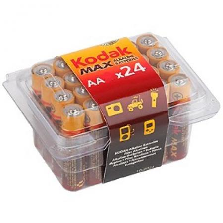 Батарейки KODAK Max LR03-24 24 3A PVC/ K3A24 24/480/34560 LR03 24 шт elasun 24