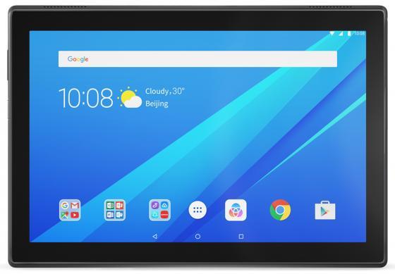 Планшет Lenovo Tab 4 TB-X304L 10.1 16Gb черный 3G Wi-Fi Bluetooth LTE Android ZA2K0056RU в киеве планшет lenovo ideatab a3000 3g 16gb 59366238 white