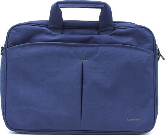"""все цены на Сумка для ноутбука 15.6"""" Continent CC-012 нейлон синий онлайн"""