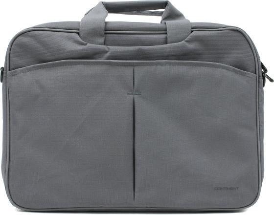 Сумка для ноутбука 15.6 Continent CC-012 нейлон серый 15 6 сумка для ноутбука continent cc 012 нейлоновая серая