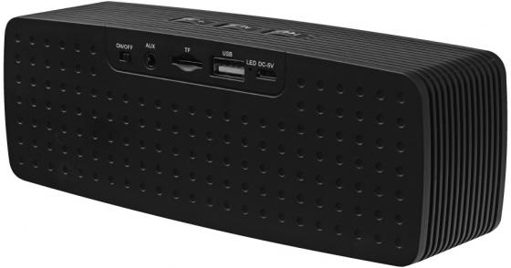 Портативная акустика Ginzzu GM-875B черный портативная акустика ginzzu gm 890g