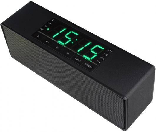 Портативная акустика Ginzzu GM-883B черный цена и фото