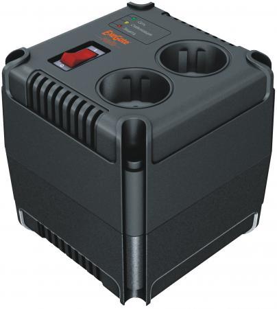 Стабилизатор напряжения Exegate Power AD-1000 2 розетки черный EP259012RUS стабилизатор напряжения exegate ad 1000