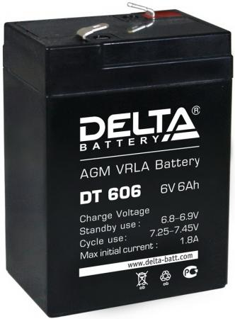 Батарея Delta DT 606 6Ач 6B delta battery dt 1207 12v 7ah