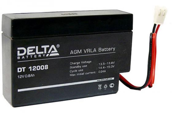 Батарея Delta DT 12008 0.8Ач 12B delta battery dt 1207 12v 7ah
