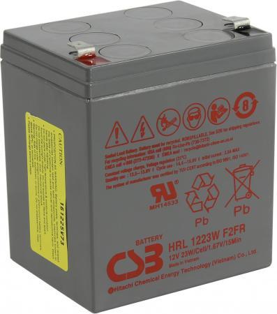 Батарея CSB HRL1223W 12V/5.8AH батарея csb gp1245 12v 4 5ah