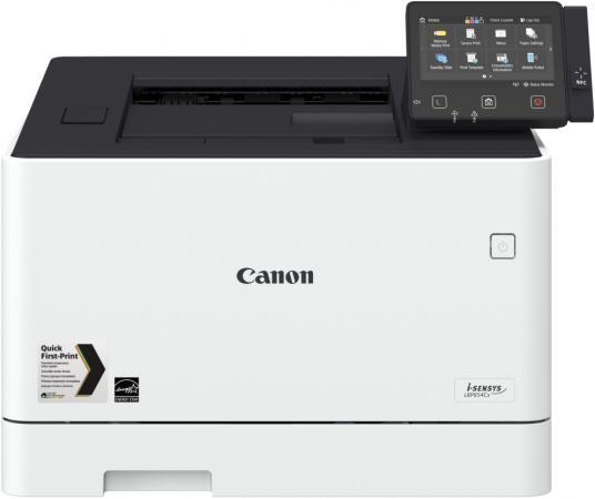 Принтер Canon i-SENSYS LBP654Cx цветной A4 27ppm 600x600dpi USB Ethernet Wi-Fi 1476C001 принтер canon i sensys lbp253x ч б a4 33ppm 1200х1200dpii ethernet wifi usb 0281c001