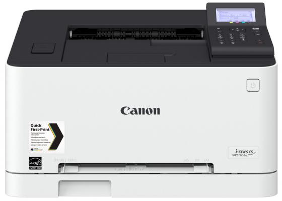 Принтер Canon i-SENSYS LBP613Cdw цветной A4 18ppm 600x600dpi USB Ethernet Wi-Fi 1477C001 принтер canon i sensys colour lbp613cdw лазерный цвет белый [1477c001]