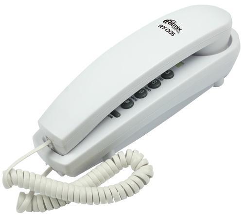 Телефон Ritmix RT-005 белый