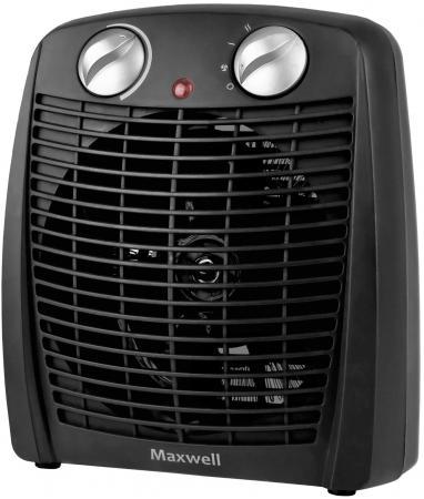 купить Тепловентилятор Maxwell MW-3455 BK 2000 Вт чёрный недорого