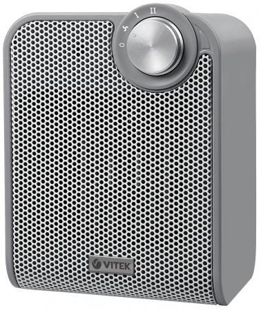 Тепловентилятор Vitek VT-1753 GY 1500 Вт серый