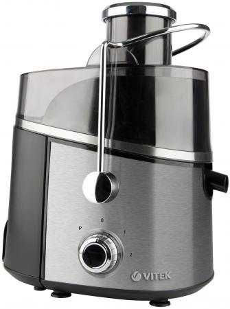 Соковыжималка Vitek VT-3657 ST 900 Вт серебристый чёрный