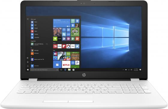 Ноутбук HP 15-bs040ur 15.6 1366x768 Intel Pentium-N3710 500 Gb 4Gb Intel HD Graphics 405 белый Windows 10 Home ноутбук dell vostro 3558 15 6 1366x768 intel pentium 3825u 500 gb 4gb intel hd graphics черный linux 3558 4483