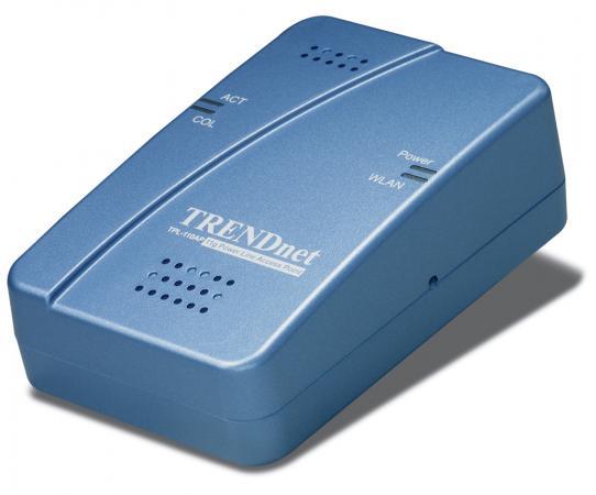 Точка доступа TRENDnet TPL-110AP маршрутизатор trendnet tew 680mb