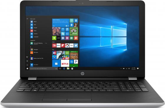 Ноутбук HP 15-bs084ur 15.6 1920x1080 Intel Core i7-7500U 1 Tb 128 Gb 6Gb AMD Radeon 530 4096 Мб серебристый Windows 10 Home 1VH78EA