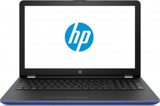 Ноутбук HP 15-bw534ur 15.6 1366x768 AMD A6-9220 500 Gb 4Gb AMD Radeon 520 2048 Мб синий Windows 10 Home ноутбук hp 15 bs027ur 1zj93ea core i3 6006u 4gb 500gb 15 6 dvd dos black