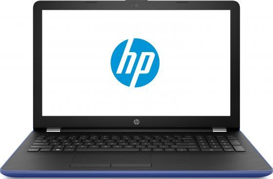 Ноутбук HP 15-bw536ur 15.6 1366x768 AMD A6-9220 500 Gb 4Gb AMD Radeon 520 2048 Мб синий Windows 10 Home 2GF36EA