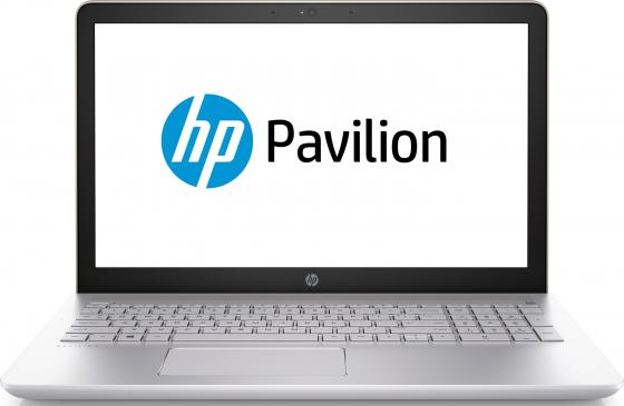 Ноутбук HP Pavilion 15-cc533ur 15.6 1920x1080 Intel Core i7-7500U 2 Tb 128 Gb 8Gb nVidia GeForce GT 940MX 4096 Мб золотистый Windows 10 Home 2CS76EA