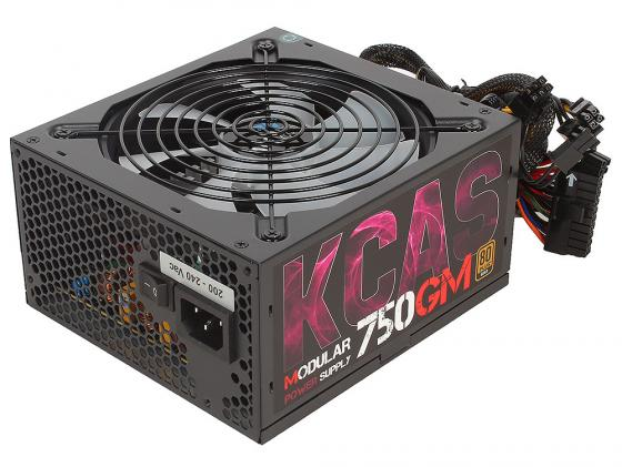 Блок питания ATX 750 Вт Aerocool KCAS-750GM блок питания atx 400 вт aerocool kcas 400w