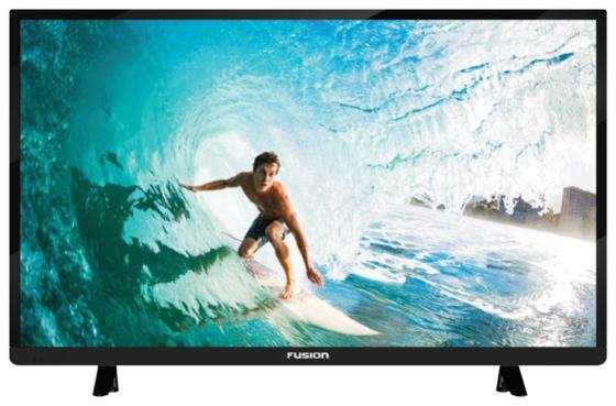 "Телевизор 28"" FUSION FLTV-30B100 черный 1366x768 50 Гц VGA"