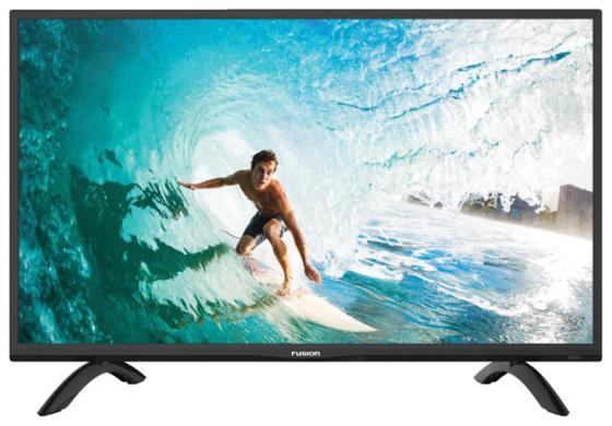 Телевизор 32 FUSION FLTV-32C100T черный 1366x768 50 Гц USB HDMI VGA телевизор жк fusion fltv 32c100t 32