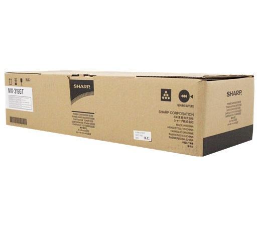 Фото - Картридж Sharp MX315GT для MX-M266N/316N/356N черный тонер картридж sharp mx 312gt