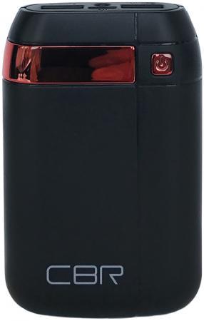 Портативное зарядное устройство CBR CBP-4075 7500мАч черный портативное зарядное устройство cbr cbp 4040 4000мач черный