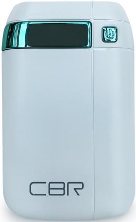 Купить со скидкой Портативное зарядное устройство CBR CBP-4075 7500мАч белый