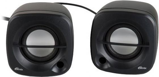 Колонки Ritmix SP-2030 2x2.5 Вт черный