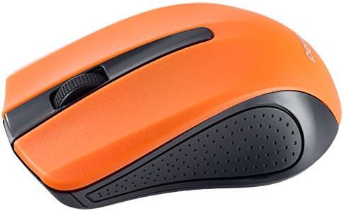Мышь беспроводная Perfeo Rainbow оранжевый чёрный USB PF-353-WOP-OR мышь проводная perfeo pf 353 op or чёрный оранжевый usb