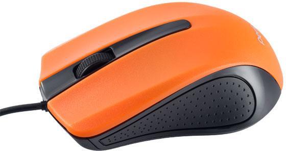 Мышь проводная Perfeo PF-353-OP-OR чёрный оранжевый USB мышь проводная perfeo pf 353 op or чёрный оранжевый usb
