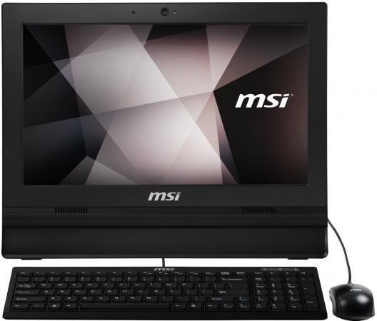 Моноблок 15.6 MSI Pro 16T 7M-009RU 1366 x 768 Touch screen Intel Celeron-3865U 4Gb 500Gb Intel HD Graphics DOS черный 9S6-A61611-009 какую оперативку для intel celeron m