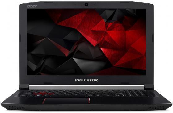 Ноутбук Acer Predator PH317-51-77ER Core i7 7700HQ/16Gb/1Tb/SSD128Gb/nVidia GeForce GTX 1050 Ti 4Gb/17.3/IPS/FHD (1920x1080)/Windows 10/black/WiFi/BT/Cam