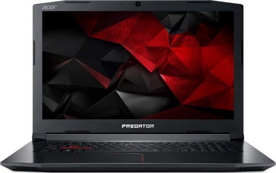 Ноутбук Acer Predator Helios 300 PH317-51-7717 17.3 1920x1080 Intel Core i7-7700HQ 1 Tb 8Gb nVidia GeForce GTX 1050Ti 4096 Мб черный Windows 10 Home NH.Q2MER.003 ноутбук acer predator triton 700 pt715 51 78su 15 6 1920x1080 intel core i7 7700hq nh q2ker 003