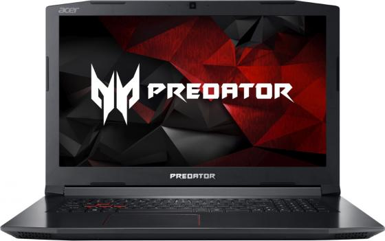 Ноутбук Acer Predator PH317-51-70SY 17.3 1920x1080 Intel Core i7-7700HQ 1 Tb 128 Gb 16Gb nVidia GeForce GTX 1050Ti 4096 Мб черный Linux NH.Q2MER.005 ноутбук acer predator triton 700 pt715 51 78su 15 6 1920x1080 intel core i7 7700hq nh q2ker 003