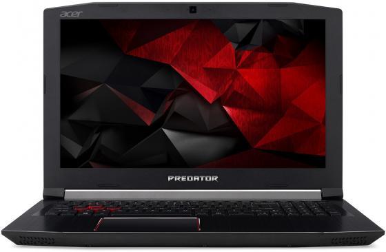 Ноутбук Acer Predator G3-572-526G 15.6 1920x1080 Intel Core i7-7700HQ 1 Tb 128 Gb 16Gb nVidia GeForce GTX 1060 6144 Мб черный Windows 10 Home NH.Q2BER.007 ноутбук acer predator triton 700 pt715 51 78su 15 6 1920x1080 intel core i7 7700hq 1024 gb 16gb nvidia geforce gtx 1060 6144 мб черный windows 10 home nh q2ker 003