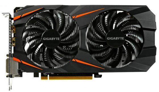 Видеокарта 6144Mb Gigabyte GeForce GTX1060 PCI-E 192bit GDDR5 DVI HDMI DP HDCP GV-N1060WF2OC-6GD-MI OEM