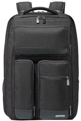 """Рюкзак для ноутбука 17"""" ASUS 90XB0420-BBP010 нейлон резина черный цена и фото"""