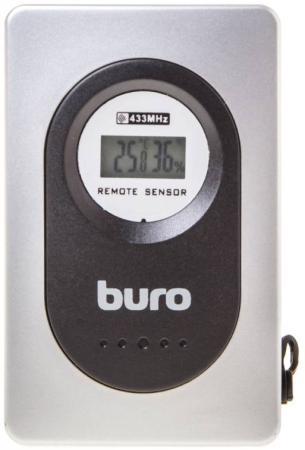 Термометр Buro H999E/G/T серебристый/черный цена