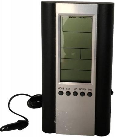 цены на Погодная станция Buro H6308AB серебристый/черный в интернет-магазинах
